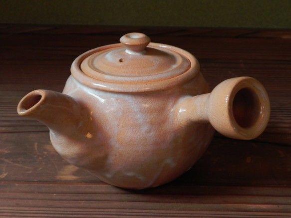 急須(琵琶)|グラス・カップ|土和窯(つちわがま)|ハンドメイド通販・販売のCreema