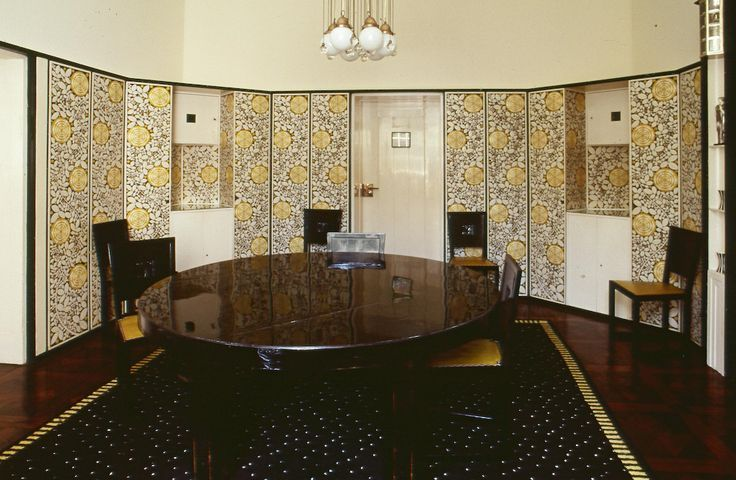 Interior of Palais Stoclet (1905-1911) - Joseph Hoffmann