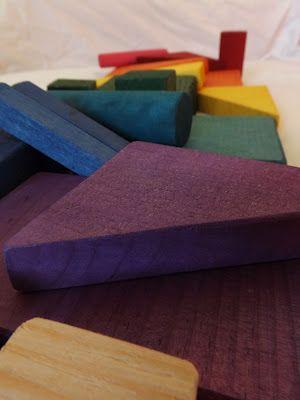 Dream Home: DIY Building Blocks- no painting!