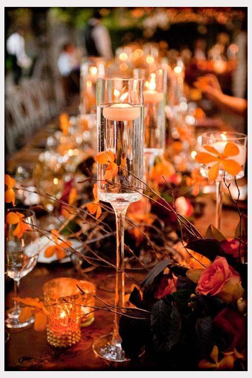 kings above table wedding decor wedding reception table decorations fall wedding table decorations - Halloween Wedding Table Decorations
