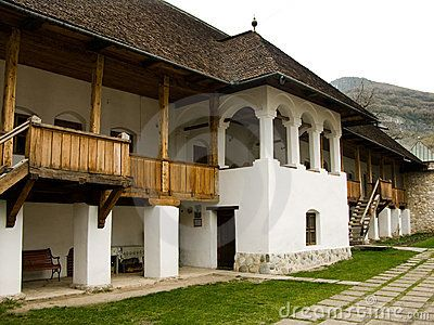 Polovragi monastery is a religious and artistic monument in northern Oltenia district (in Romania), on Oltet Valley.The most recent researches based on slavonic inscriptions, establish the building date of the Polovragi Monastery between XV and XVI century (1505).