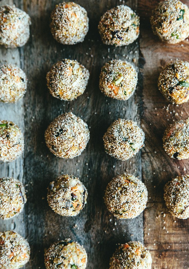 "Veggie balls on fire! - ""universal umami bombs"" aka neatballs"