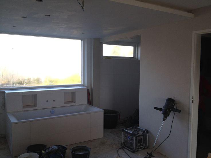 Verbouwing slaapkamer badkamer