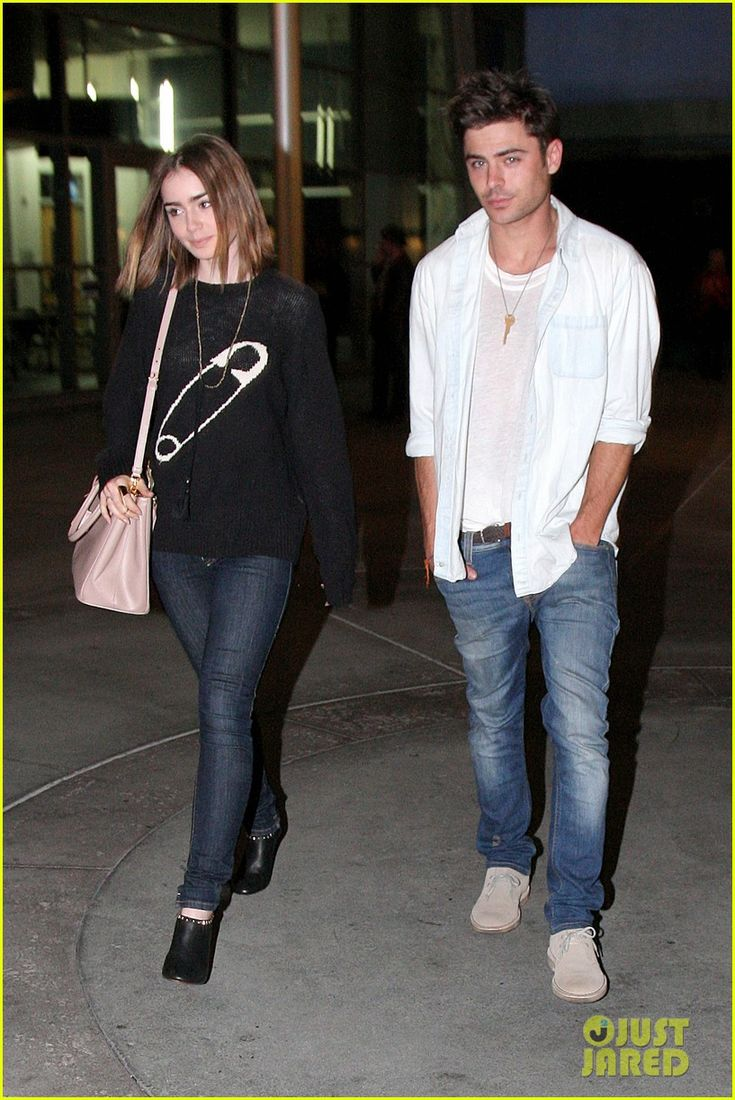 Zac Efron & Lily Collins: Movie Night Out in Hollywood! | Lily Collins, Zac Efron Photos | Just Jared