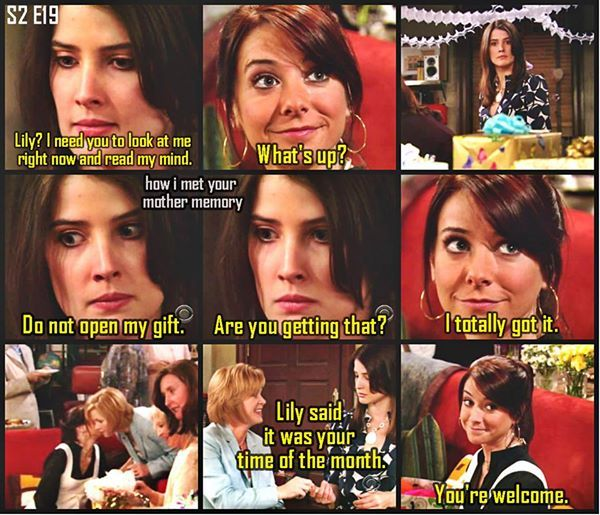 HIMYM Moments.