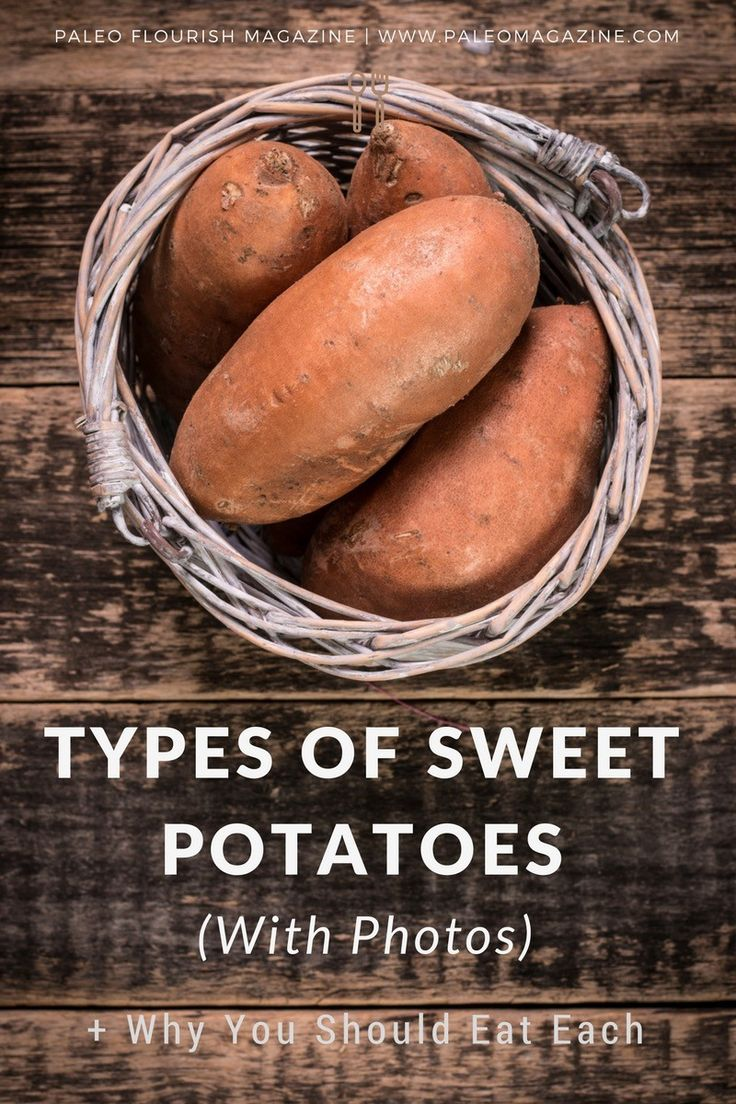 Figure out the types of sweet potatoes and yams you're eating (there are photos and images here as well as descriptions to help you). There are also recipes here!