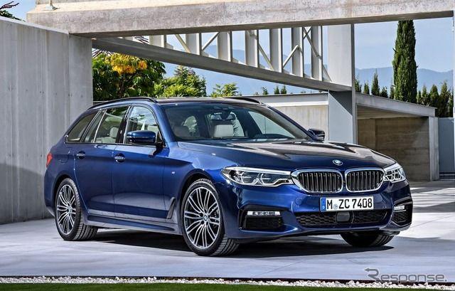 【画像】【ジュネーブモーターショー2017】BMW 5シリーズ 新型、ツーリングを初公開予定 1/10 - ライブドアニュース
