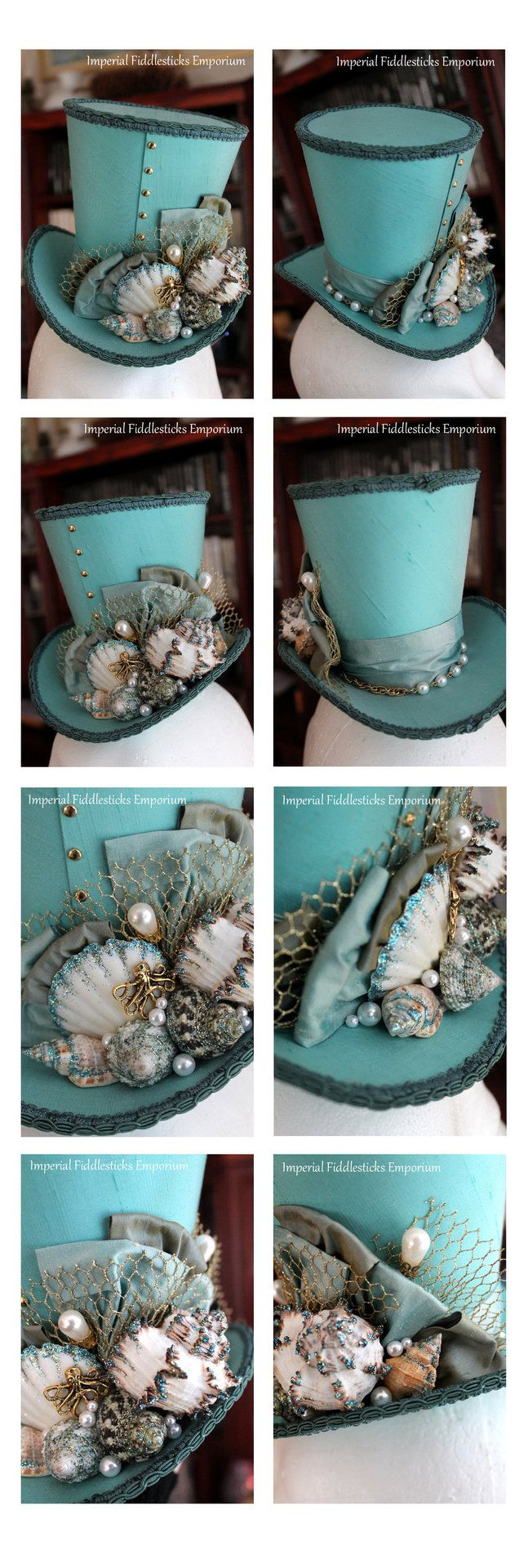 arsenicinshell:  Atlantis Top Hat - Commission for Arathin by ImperialFiddlesticks
