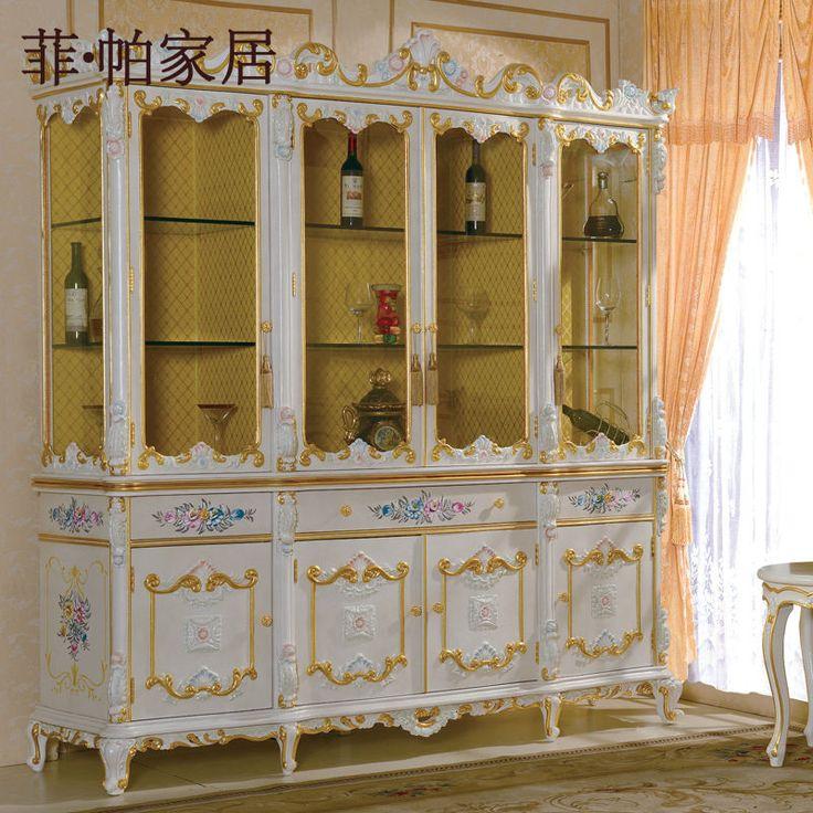 Francés provincial sala de muebles mobiliario - tallado a mano cellaret madera maciza-Mueble de madera-Identificación del producto:300000291000-spanish.alibaba.com
