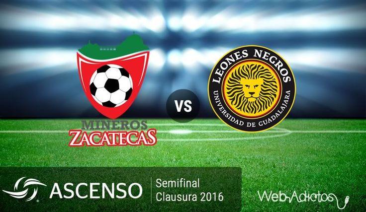 Mineros vs Leones Negros UDG ¡En vivo por internet! | Semifinal del Ascenso MX C2016 - https://webadictos.com/2016/04/28/mineros-vs-leones-negros-udg-semifinal-c2016/?utm_source=PN&utm_medium=Pinterest&utm_campaign=PN%2Bposts