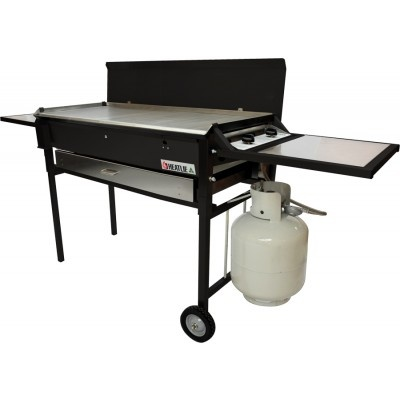 Heatlie HM700PCPB Powder Coated Black BBQ Package - http://www.appliancesalesdirect.com.au/shop-by/bbq/heatlie-hm700pcpb-powder-coated-black-bbq-package