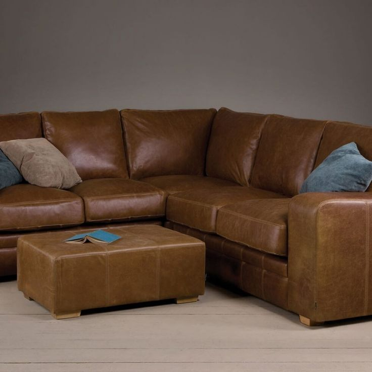 25 Best Ideas About Leather Corner Sofa On Pinterest