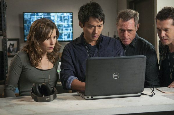 Sophia Bush, Archie Kao, Jason Beghe and Jon Seda in Chicago PD picture - Chicago PD picture #16 of 46
