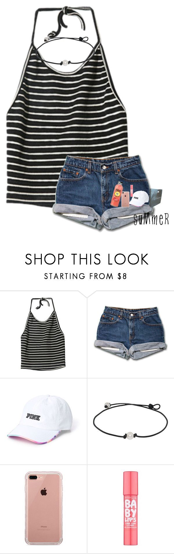 """Day: 6 shopping"" by kolbee24 ❤ liked on Polyvore featuring beauty, StyleNanda, Belkin and Maybelline"
