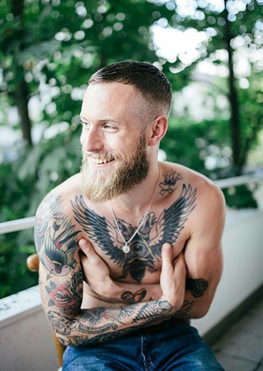 Bearded - Nude!