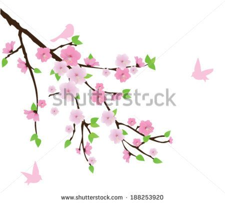 Pink Cherry Blossom Bird Stock Photos, Pink Cherry Blossom Bird Stock Photography, Pink Cherry Blossom Bird Stock Images : Shutterstock.com