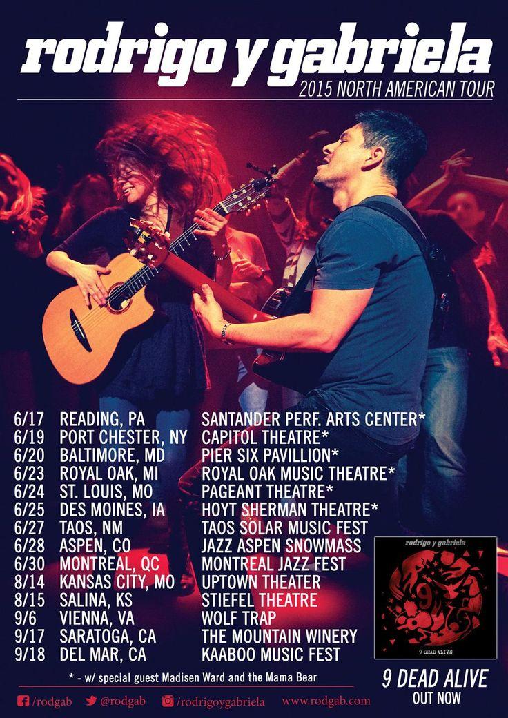 Rodgab Tour Dates