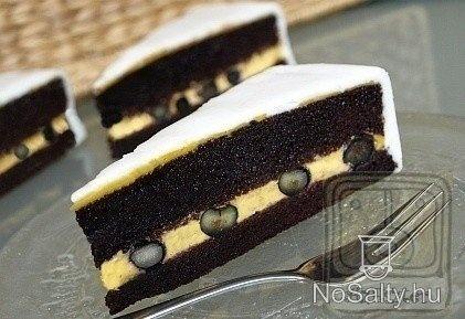 Narancskrémes brownie torta -Brownie torta 2. http://www.nosalty.hu/recept/narancskremes-brownie-torta-brownie-torta-2
