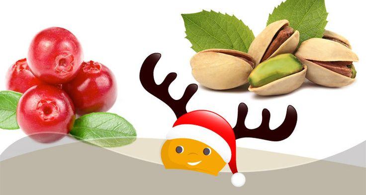 Dolcetti light da inserire nella calza della befana: barrette di pistacchio e mirtilli rossi - ChiacchiereDolci.it #dolci #ricette #ricettelight #felicità #befana #epifania #dolcezza #dolcilight