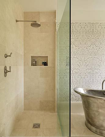18 best crema marfil images on pinterest marble marble tiles and marbles for Best paint color for crema marfil bathroom