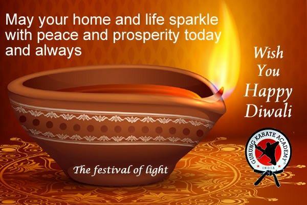 #Celebrate #Eco #Friendly #Diwali with #Gurung #Karate Academy-regd
