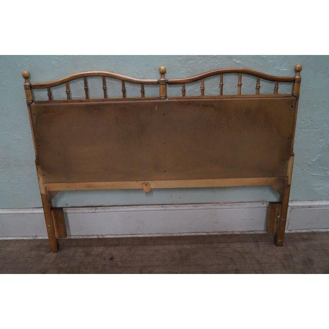 Image of Faux Bamboo Rattan Queen or Full Size Headboard