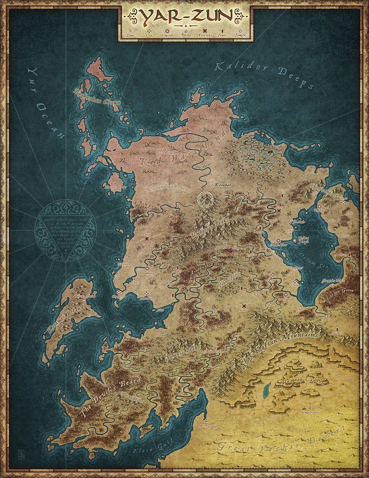 Yar Zun by Lesopeso 495 best Fantasy World
