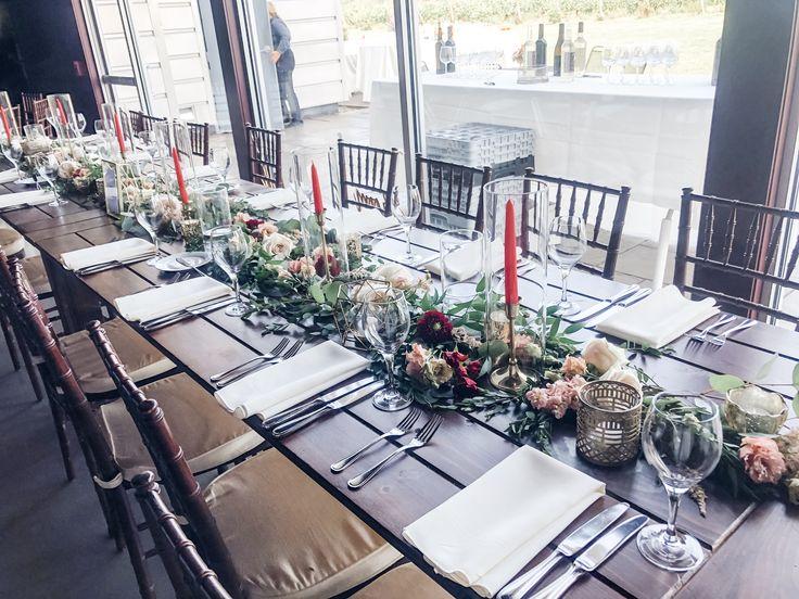 Saltwater Farm Vineyard Long Table Wedding Rectangle Wedding Tables Wedding Table