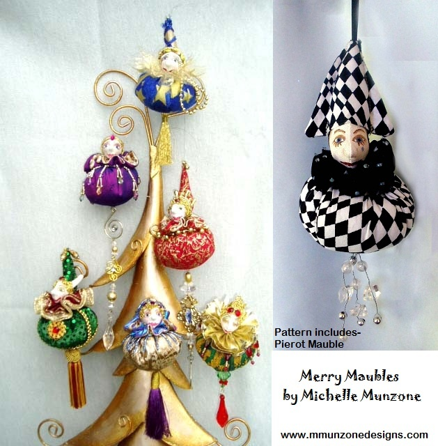 MERRY MAUBLES   Pattern by Michelle Munzone