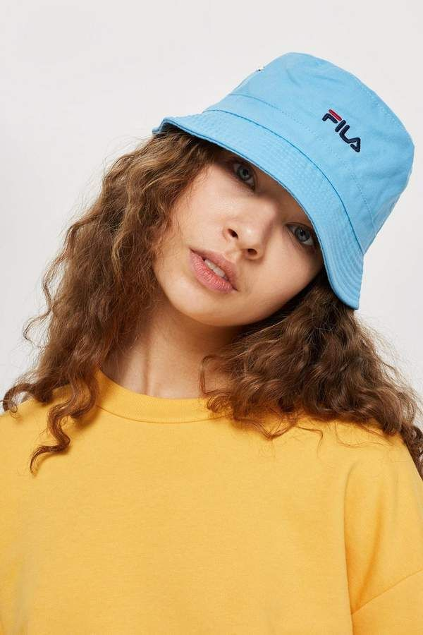 4ae1afe35e1a Blue Baxter Bucket Hat by FILA in 2018