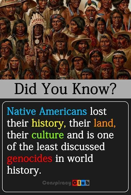American Indians' history has been systemically whitewashed to benefit imperial European colonizers.