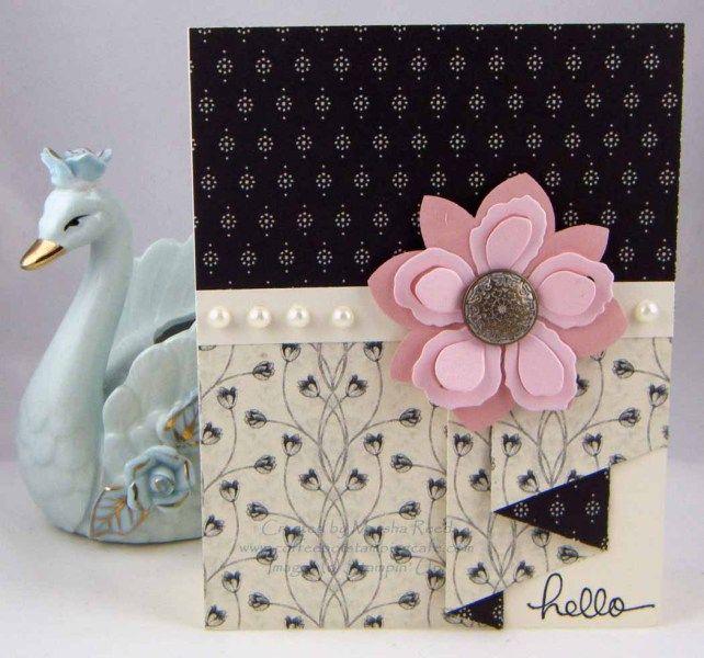 Pleated Skirt Fold Card