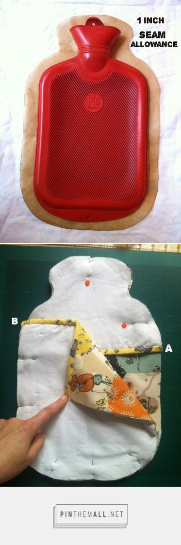 Free pattern: Ruth's hot water bottle cosy  |  The Village Haberdashery
