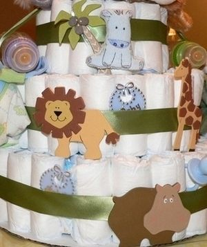My blog - Animal Themed Baby Shower This site has great Shower ideas