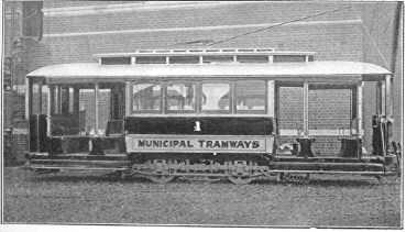 PH 9108. Tram belonging to Prahran and Malvern Tramways Trust, 1910.