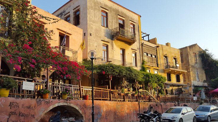 Old city of Chania, Crete.