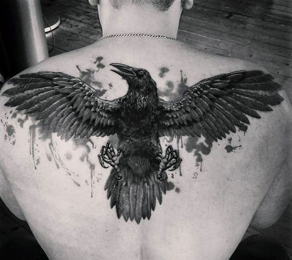 25 best ideas about back tattoos for guys on pinterest crown tattoo men finger tattoos fade. Black Bedroom Furniture Sets. Home Design Ideas