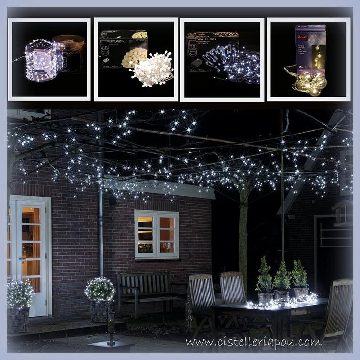 M s de 25 ideas incre bles sobre luces led de navidad para for Luces decoracion exterior