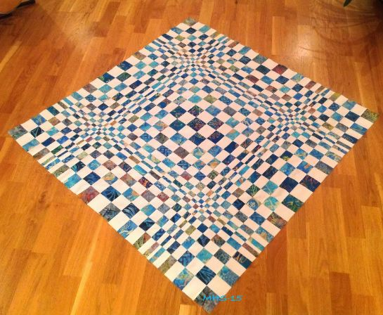 Looking for your next project? You're going to love 3D OP quilt  by designer Mona H..