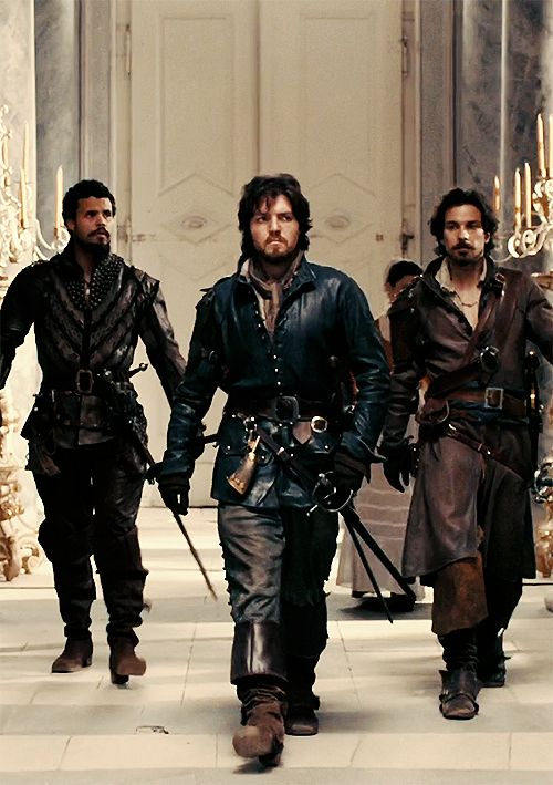THE THREE MUSKETEERS <3