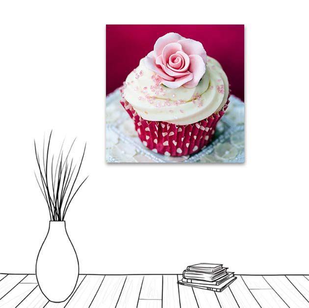 Cup cake : la gourmandise dans un tableau.