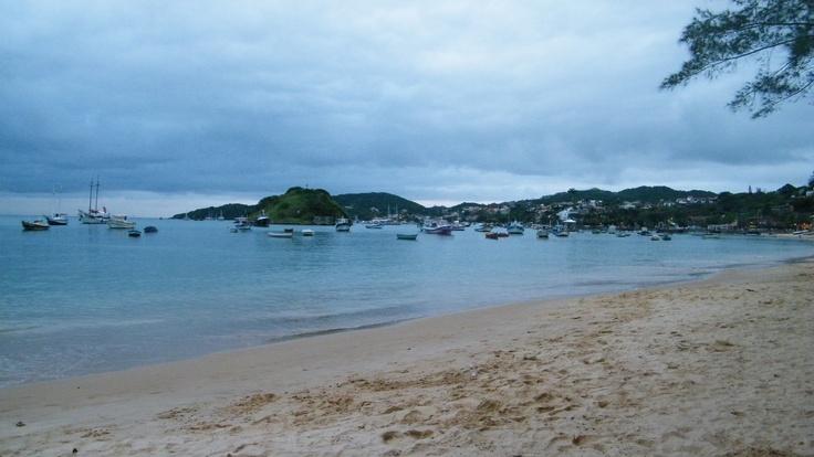 Buzios, view to Praia do Canto