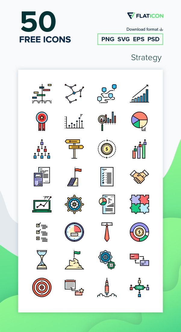 50 Free Vector Icons Of Strategy Designed By Freepik Work Icon Vector Free Vector Icons