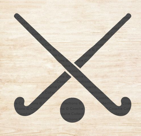 Field Hockey Sticks Stencil by CoastieCollections on Etsy                                                                                                                                                      More