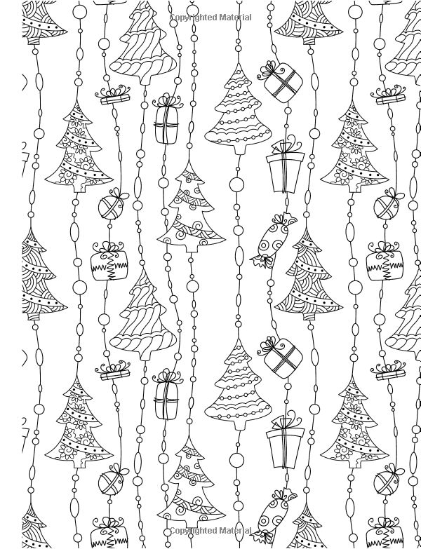 Colour Me Christmas ( A Really RELAXING Colouring Book): Elizabeth James