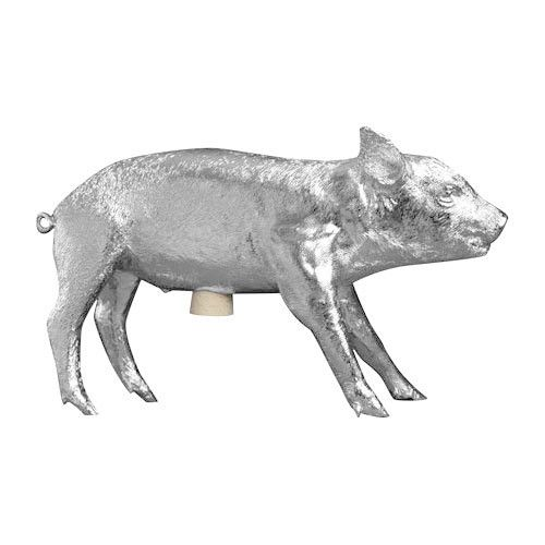 BANK IN THE FORM OF A PIG by Areaware at Souvenir.  This makes an amazing gift for anyone.  Come see our shop at www.shop-souvenir.com