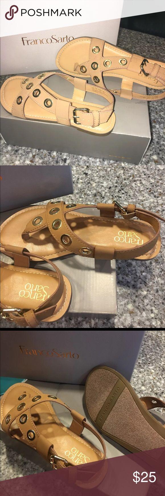 Franco Sarto sandals Brand new, never worn Franco Sarto sandals in size 6. Franco Sarto Shoes Sandals