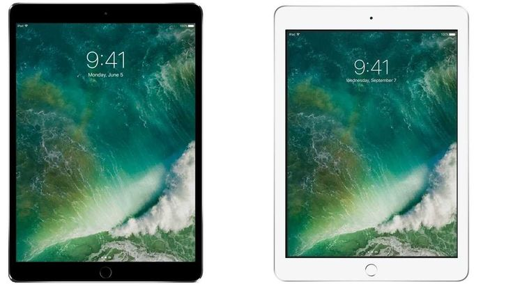 Apple iPad Pro 2 10.5 vs Apple iPad 9.7 Subscribe! http://youtube.com/TechSpaceReview More http://TechSpaceReview.tumblr.com