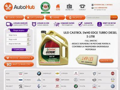 AutoHut magazin piese auto online un partener de incredere