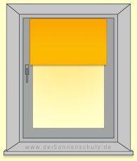 #Rollo-Montage - #Rollo #Montage schnell und einfach - #Rollos können wahlweise an drei unterschiedlichen Stellen des #Fensters befestigt werden: auf dem #Fensterflügel, in der #Fensternische oder vor der #Fensternische.